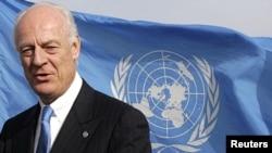 Staffan de Mistura, the UN special representative in Afghanistan