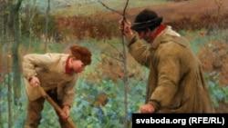 Джордж Клаўсэн «Пасадка дрэва» (1888)