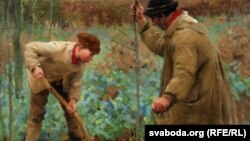 Джордж Клаўсэн, «Пасадка дрэва» (1888)