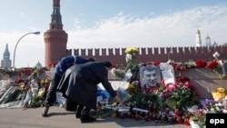 Немцовду эскерүү. Москва, 9-март, 2015-жыл.
