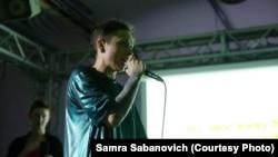 """Марина Шамова, участница кооператива """"Техно-поэзия"""". Фото: Samra Sabanovich"""