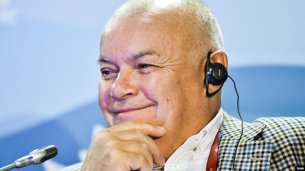 Телеведущий Дмитрий Киселёв
