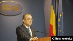 Румыния премьер-министрі Эмил Бок.