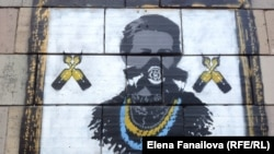 Граффити Майдана: Леся Украинка