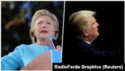 Hilari Klinton vodi ispred Donalda Trampa u predizbornim anketama