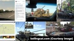 Выява ў адным з расьсьледаваньняў Bellingcat, зробленых паводле адкрытых зьвестак у сацсетках