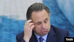 "Sports Minister Vitaly Mutko: ""Monitoring everything"""