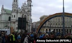 Варшава. Демонстрация по случаю 8 марта