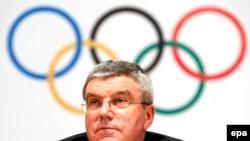 ثوماس باك رئيس اللجنة الاولمبية الدولية