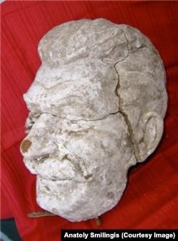 Недавно в Корткеросе обнаружили голову Сталина, часть памятника, снесенного в 1956 году
