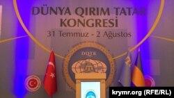 Ekinci Dünya qırımtatar kongressi. 2015 senesi avgust 1 künü, Ankara