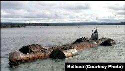 Российская атомная подводная лодка К 159