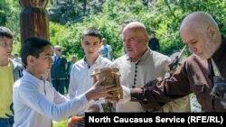 Традиционный праздник в Осетии, иллюстративное фото