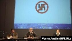 Sa skupa na Međunarodni dan borbe protiv rasizma, fašizma i antisemitizma, Beograd, 9. oktobar 2012.