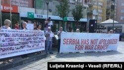 Obitelji žrtava i preživjeli protiv izbora Vuka Jeremića na čelo UN-a, Priština