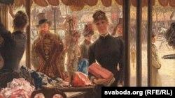 James Tissot, «Pradavačka» (1885)