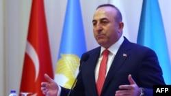 Турскиот министер за надворешни работи Мевлут Чавушоглу.
