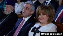 Serzh Sarkisian və Rita Sarkisian