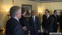 Հայաստանյան քաղաքական ուժերը ողջունում են հայ-ամերիկյան նոր համաձայնագիրը