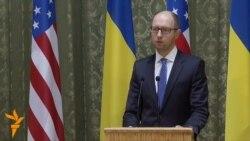 Ятсенюк: Русия ба ишғоли Украина нуқта гузорад