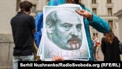Беларуска байланыштуу Украинада өткөн нааразылыктар. 28-май, 2021-жыл.