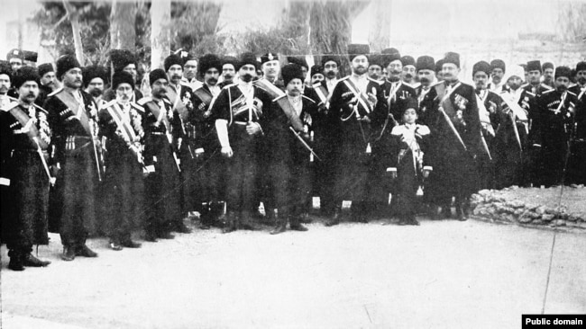 بریگارد کازاک (قزاق) تبریز در فروردین ۱۲۸۸ شمسی