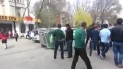 Авария в Бишкеке
