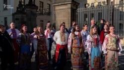 Через 100 років український «Щедрик» знову залунав у Празі – відео