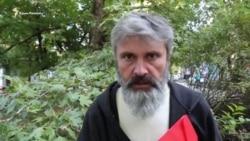 «Поговорили о спасении»: Архиепископ Климент посетил голодающего Балуха (видео)