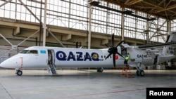 Qazaq Air ұшағы (Көрнекі сурет).