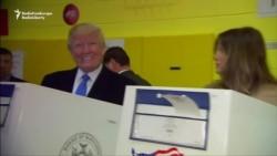 Трамп проголосовал в Нью-Йорке