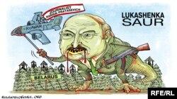 Politikai karikatúra a Ryanair-ügyről