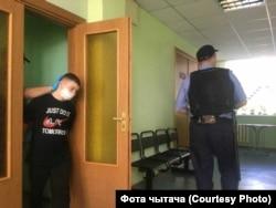 Непаўналетні палітычны вязень Мікіта Залатароў.