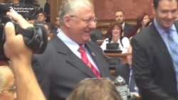 Nationalist Seselj Returns To Serbian Parliament