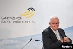 Winfried Kretschmann, ecologistul care va conduce pentru un al treilea mandat consecutiv landul Baden-Württemberg, 14 martie 2021.