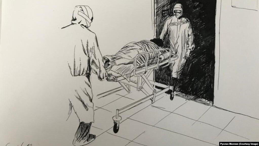 Один из рисунков Руслана