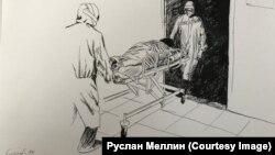 Один из рисунков Руслана Меллина