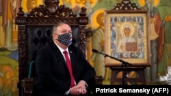 د امریکا د بهرنیو چارو وزیر مایک پومپیو