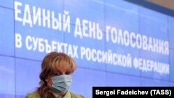 Элла Памфилова, председатель Центральной избирательной комиссии России. Архивное фото