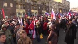 Прокремлевский митинг в Москве