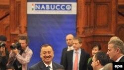 İlham Əliyev Budapeştdə «Nabucco» sammitində, 2009