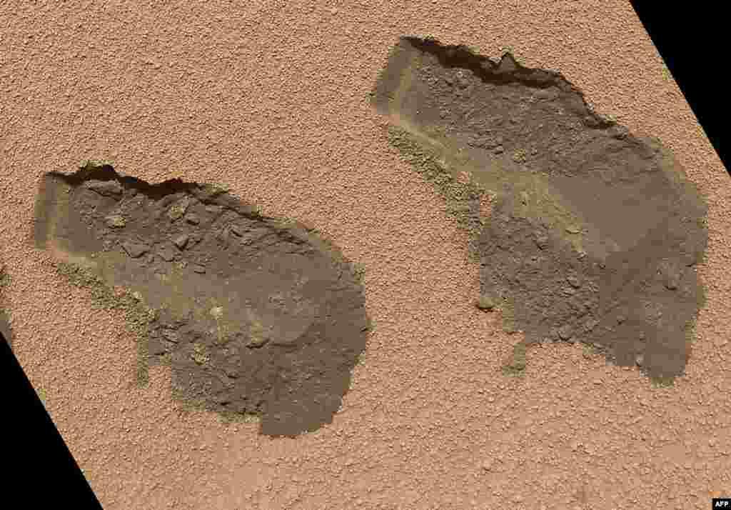 Гэты здымак Марсу быў зробленыў кастрычніку 2012 году. Фота, нядаўна апублікаванае NASA.