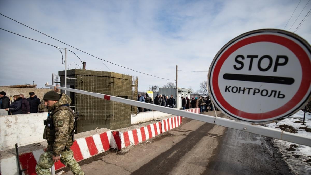 Штаб ООС сообщил о дополнительные ограничения на всех КПВВ на линии разграничения