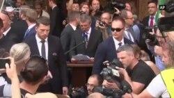 Premierul ceh a fost huiduit a Praga la manifestarea oficială de comemorare a invaziei sovietice din 1968