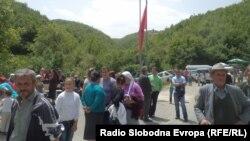 Отворен нов граничен премин Требиште-Џепиште на македонско-албанската граница.