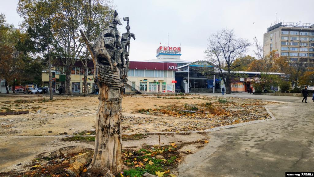 Площа Куйбишева перед ринком