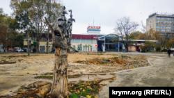 Куйбишевський ринок у Сімферополі потрапив до списку громадських територій, які чиновники обіцяють упорядкувати