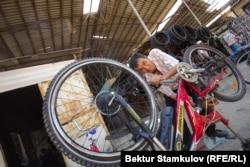 Велосипед саткан соодагер.