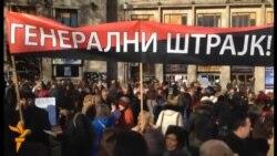 Srbija: Prosvetari u protestu