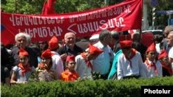 Превомайский марш коммунистов Армении, Ереван, 1 мая 2012 г.
